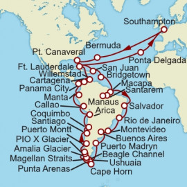 Discover South America Cunard Cruise