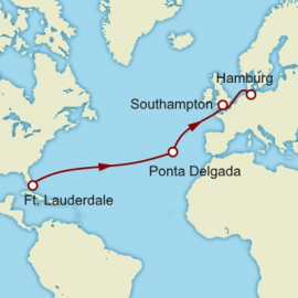 Fort Lauderdale to Hamburg Cunard Cruise