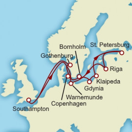Baltic Highlights Cunard Cruise