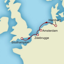 Belgian Escape Cunard Cruise