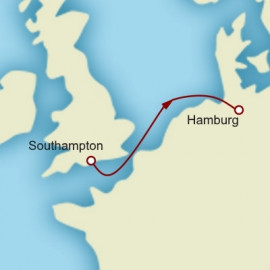 Southampton to Hamburg Itinerary