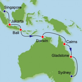 Singapore to Sydney Dream Cruises Cruise
