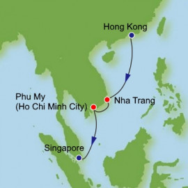 Hong Kong to Singapore Dream Cruises Cruise
