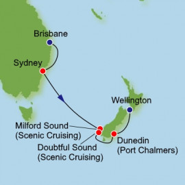 Brisbane to Wellington Dream Cruises Cruise
