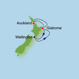 North Island Adventure from Wellington Roundtrip Dream Cruises Cruise