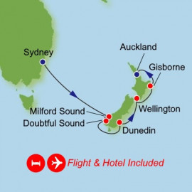 Fly Stay New Zealand Dream Cruises Cruise