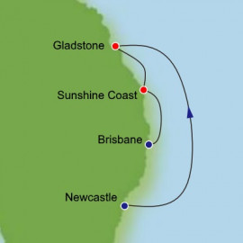 Newcastle to Brisbane Dream Cruises Cruise