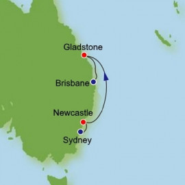 Sydney to Brisbane Dream Cruises Cruise