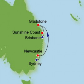 Sydney to Brisbane Itinerary