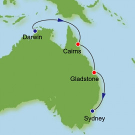Darwin to Sydney Dream Cruises Cruise