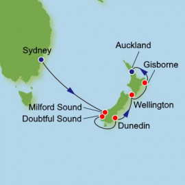 Sydney to Auckland Itinerary