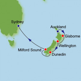 Auckland to Sydney Dream Cruises Cruise