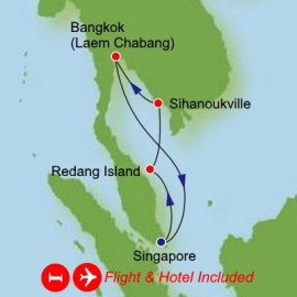 Fly Stay Southeast Asia Dream Cruises Cruise