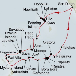 Tales of the South Pacific Holland America Line Cruise