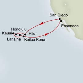 Circle Hawaii Holland America Line Cruise