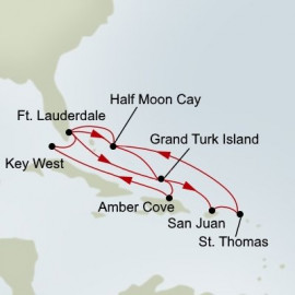 Tropical and Eastern Caribbean Holland America Line Cruise