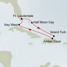 Tropical Caribbean Holland America Line Cruise
