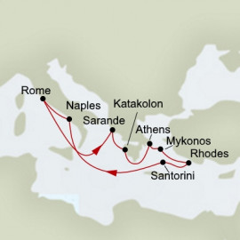 Ancient Empires Itinerary