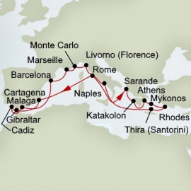 Ancient Empires and Mediterranean Rivieras Holland America Line Cruise