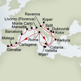 Best Of The Mediterranean Itinerary