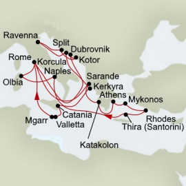 Ancient Empires and Mediterranean Legends Holland America Line Cruise