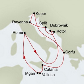Mediterranean Legends Holland America Line Cruise