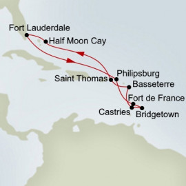 Southern Caribbean Holland America Line Cruise