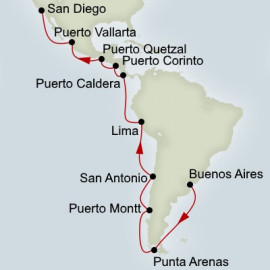 Voyage of the Americas Holland America Line Cruise