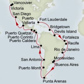 Fly Stay and Voyage Of The Americas Holland America Line Cruise