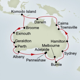 EXC In-Depth Australia Circumnavigation Itinerary