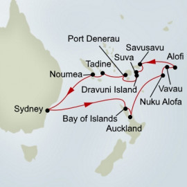 EXC In-Depth Pacific Islands Adventure Holland America Line Cruise