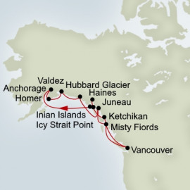 EXC In-Depth Great Alaskan Explorer Itinerary