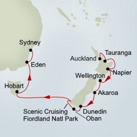 EXC In-Depth Australia and New Zealand Holland America Line Cruise