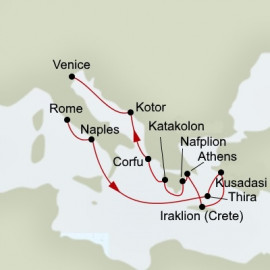 Greek Odyssey Holland America Line Cruise