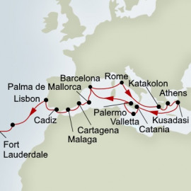 Ancient Empires and Passage to America Holland America Line Cruise