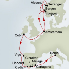 Norse Legends and Iberian Adventure Holland America Line Cruise