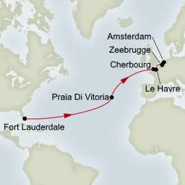 Azores and Normandy Expedition Holland America Line Cruise