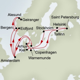 Baltic Jewels and Norwegian Fjords Itinerary