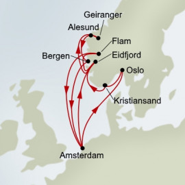 Norse Legends and Viking Sagas Itinerary