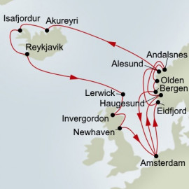 Northern Isles and Norse Legends Holland America Line Cruise