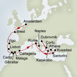 Iberian Adventure and Mediterranean Mosaic Holland America Line Cruise
