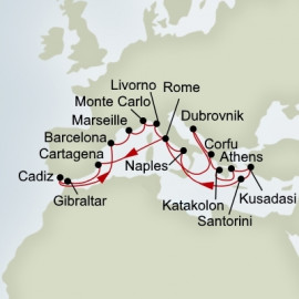 Best Of The Mediterranean Holland America Line Cruise
