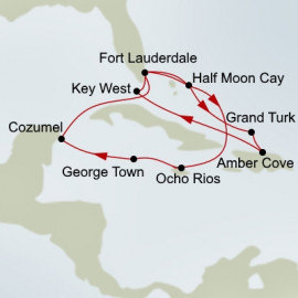 Western Tropical Caribbean Holland America Line Cruise