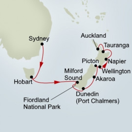 New Zealand Holland America Line Cruise