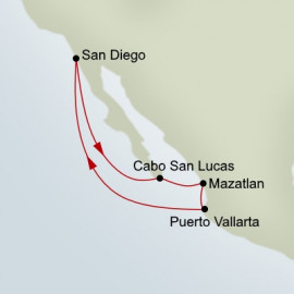 Mexican Riviera Holland America Line Cruise
