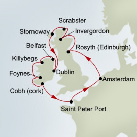 British Isles Explorer Holland America Line Cruise