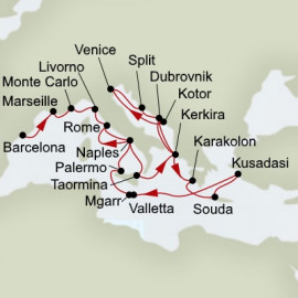 Mediterranean Tapestry and Adriatic Dream Holland America Line Cruise