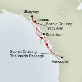 Alaskan Inside Passage Itinerary