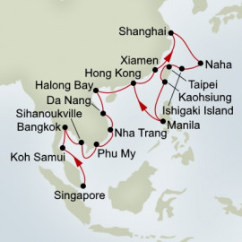 Far East Asia Collector Holland America Line Cruise