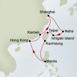 East Asia Holland America Line Cruise